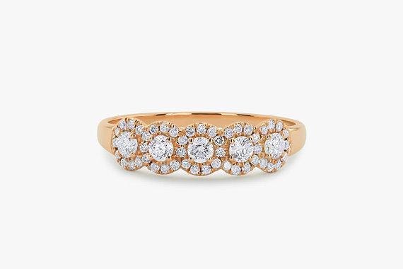 Daily Steals-18KT Rose Gold Plated Cubic Zirconia Fancy Rings-Jewelry-6-Five Circle-