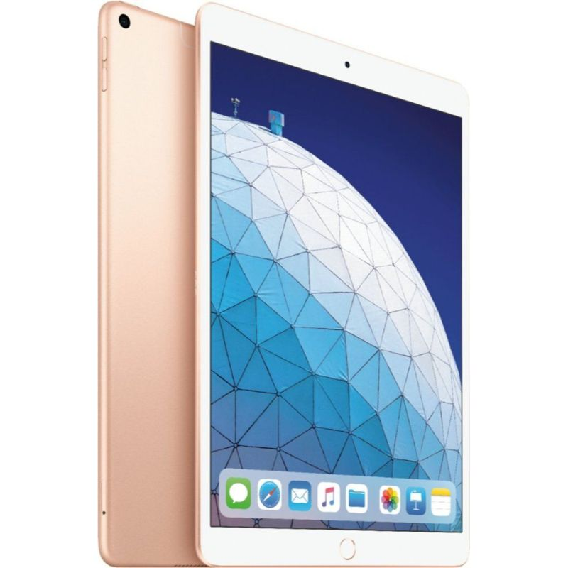 Apple iPad Air 3 10.5-inch 64GB Bundle with Case and Screen Protector-Gold-Daily Steals