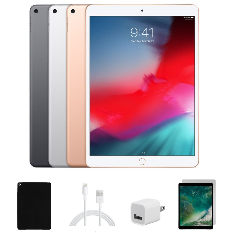 Apple iPad Air 3 10.5-inch 64GB Bundle with Case and Screen Protector-Daily Steals
