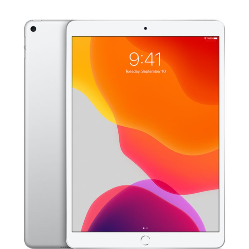 Apple iPad Air 3 10.5-inch 64GB Bundle with Case and Screen Protector-Silver-Daily Steals