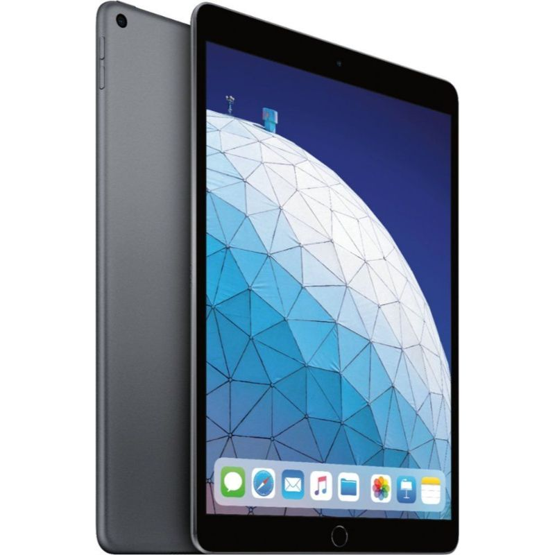 Apple iPad Air 3 10.5-inch 64GB Bundle with Case and Screen Protector-Space Gray-Daily Steals