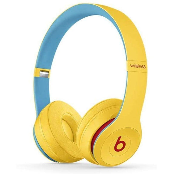 Beats Solo3 Club Collection Wireless On-Ear Headphones-Club Yellow-Daily Steals