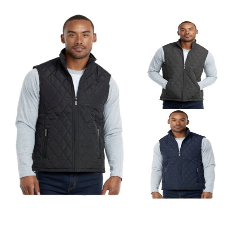 Men's Diamond Quilted Puffer Vest-Daily Steals