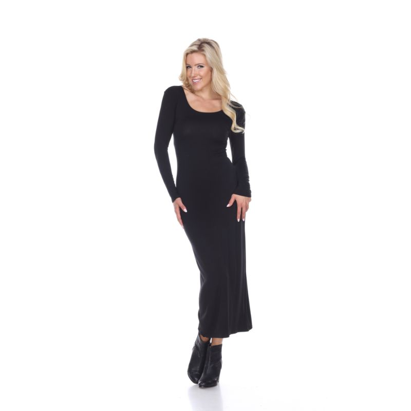 WhiteMark 'Ria' Dress-Black-S-Daily Steals