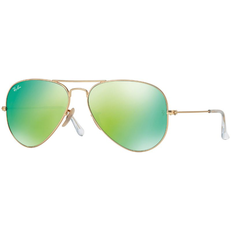 Ray-Ban RB3025 112/19 Unisex Aviator Flash Sunglasses-Daily Steals