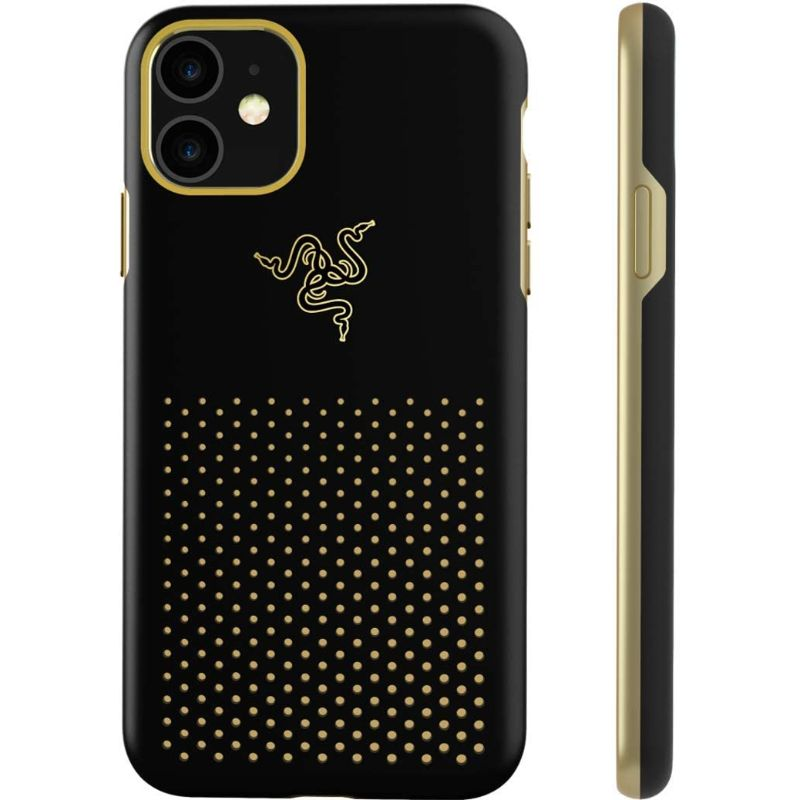 Razer Arctech Pro THS Edition Phone Case for iPhone 11 - Black and Gold