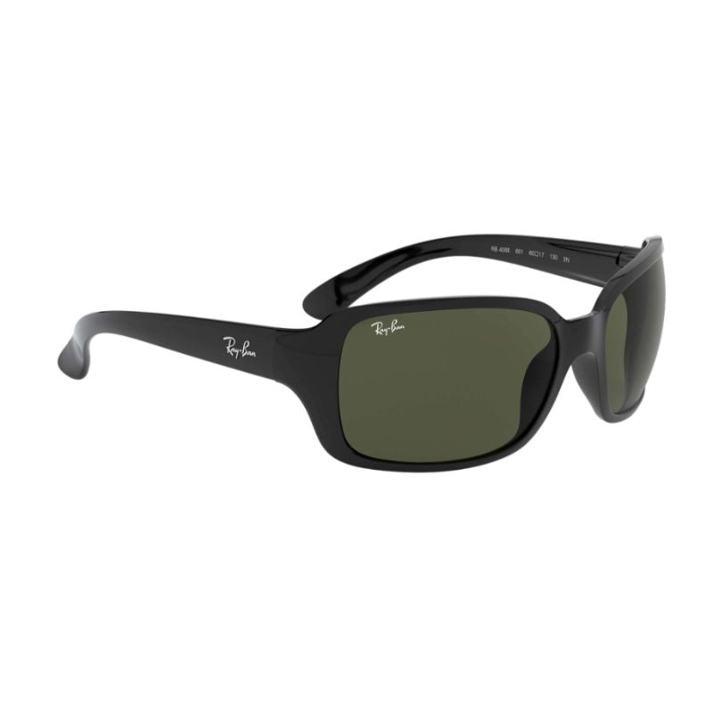 Ray-Ban Unisex Sunglasses RB4068 601 60 Black Frame | Green Classic G-15 Lens