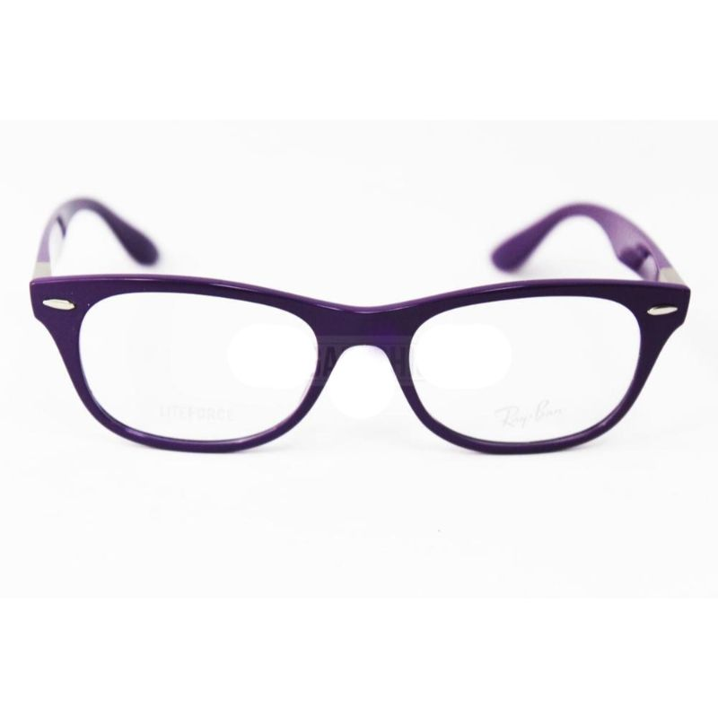 Ray Ban Eyeglasses RB 7032-5437 Purple Acetate 50 17 145