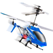 Syma S107H Remote Control Helicopter- w/ Altitude Hold Indoor RC Helicopter-Blue-Daily Steals