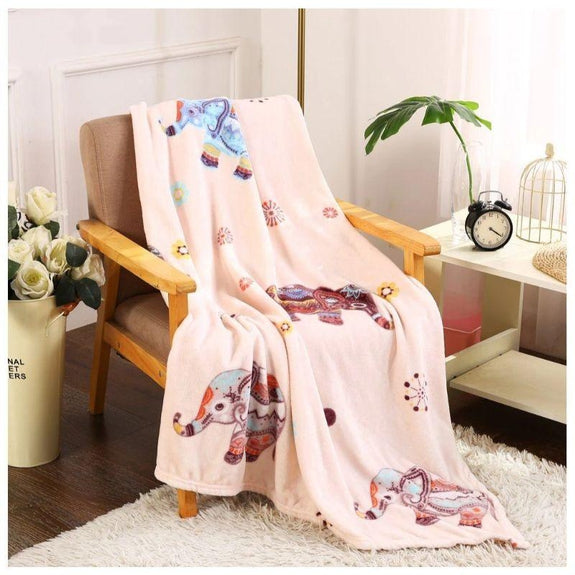 Noble House Printed Super Soft Microplush Throw Blanket-Daily Steals