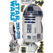 RoomMates Star Wars Classic Peel and Stick Giant Wall Decal-R2-D2-Daily Steals