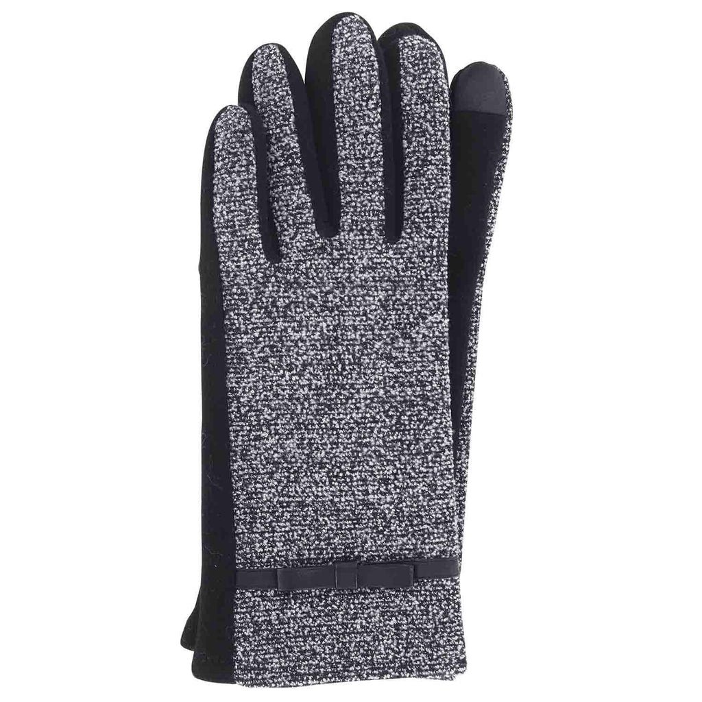 Jack & Missy Two-Tone Texting Gloves-Black-Daily Steals