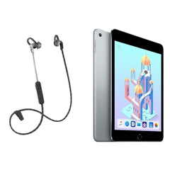 Deals on Apple Mini 4 16GB Tablet Refurb w/Bluetooth Headphones
