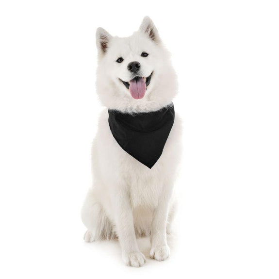 Dog Scarf Bandanas Triangle Bibs - 6 Pack-Black-Daily Steals