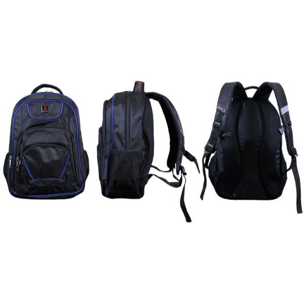Pro Series Padded Laptop Backpacks-Black/Royal (Active)-Daily Steals