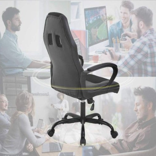 Ergonomic PU Leather Executive Office or Gaming Chair-Daily Steals