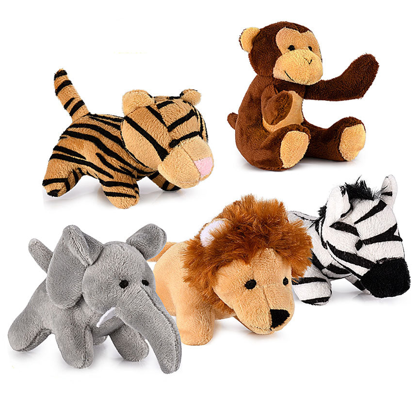 Premium Jungle Friends Talking Plushie Set-Daily Steals