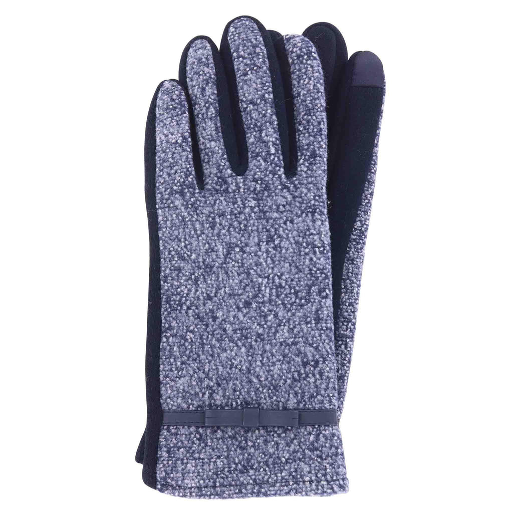Jack & Missy Two-Tone Texting Gloves-Navy-Daily Steals