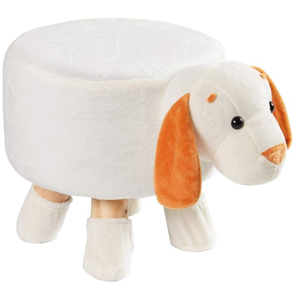 Cheer Collection Kids Mini Padded Animal Footrest-Dog-Daily Steals