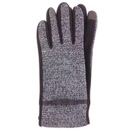 Jack & Missy Two-Tone Texting Gloves-Brown-Daily Steals