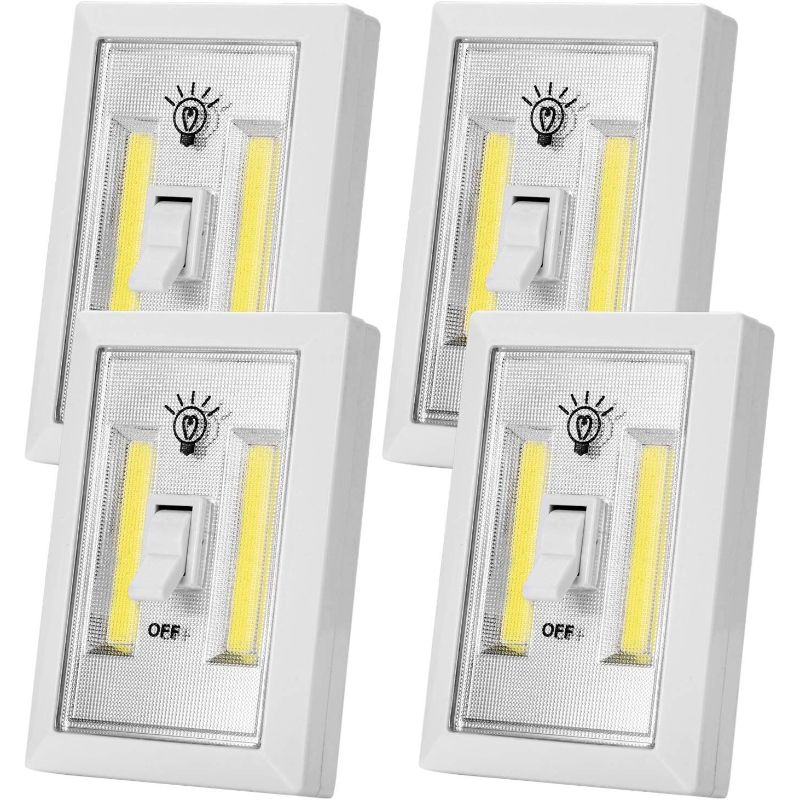 LED Closet Switch Light - 4 Pack-Daily Steals