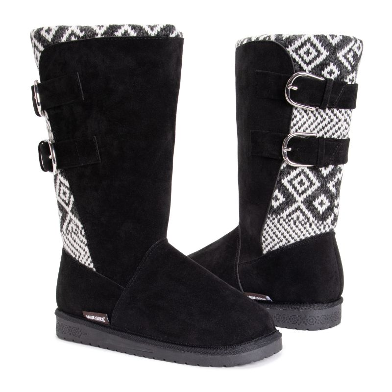 MUK LUKS Women's Jean Boots-Oxford-6-Daily Steals