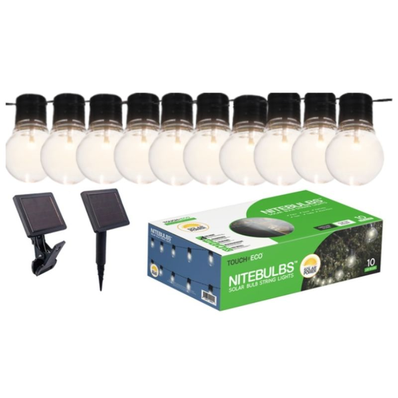 Solar 20Ft. Edison-Style Patio Lights - Socialite-1 Pack-Daily Steals