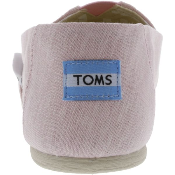 Toms Women's Classic Slub Chambray Ankle-High Canvas Slip-On Shoes-Daily Steals