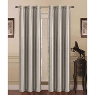 Thermal Energy-Saving Madonna Blackout Curtains - Two Panels-Silver-Daily Steals