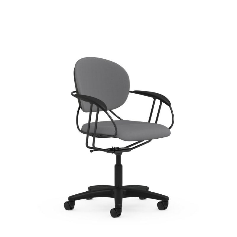 Steelcase Uno Multipurpose Chair - Mid Back-Gray-Daily Steals
