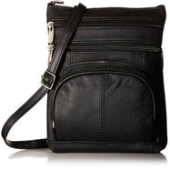 Plus Size Crossbody Bag with RFID Blocking Option-RFID Black-Daily Steals