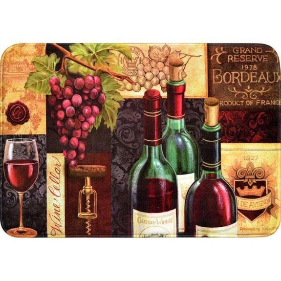 Comfort Chef Anti-Fatigue Premium Kitchen Mat-Wine Mat Wine Cellar-Daily Steals