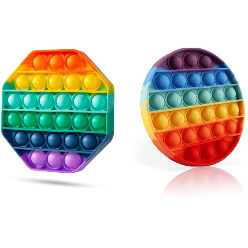 Bubble Popper Anti-Stress Fidget Toy - 2 Pack