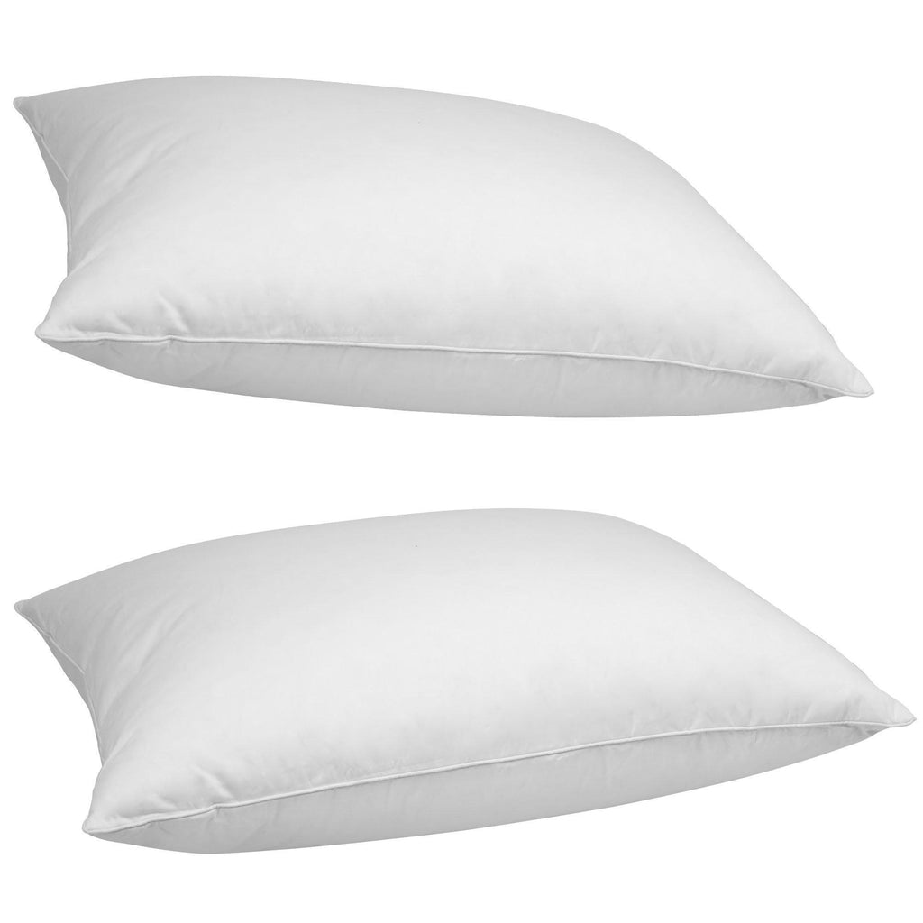 Daily Steals-[2-Pack] iEnjoy Home White-Duck Down Pillows-Home and Office Essentials-2 pack-King-