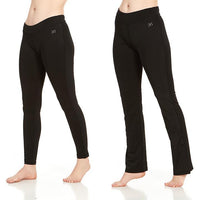 Daily Steals-Women's Active Athletic Performance Leggings and Flare Pants - 2 Pack-Women's Apparel-Large-