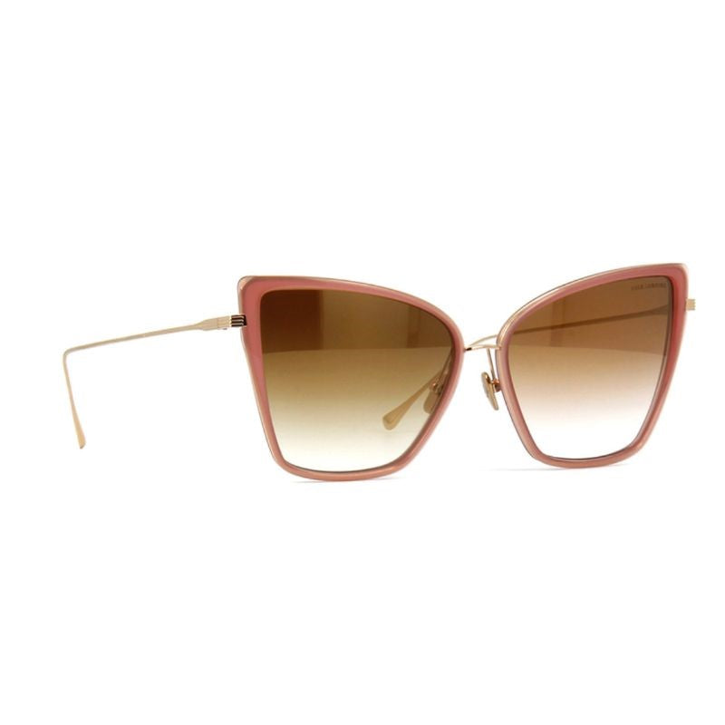 Unisex DITA Sunglasses - Sunbird Rose - 12K Gold Brown Gold Flash-Daily Steals