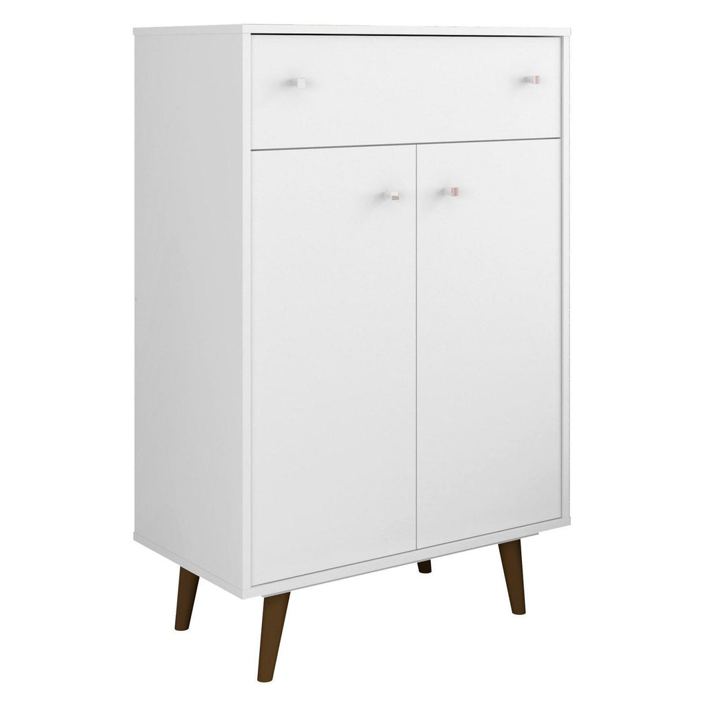 Liberty 1-Drawer 28.07 Inch Storage Cabinet-White-1