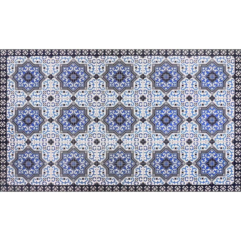 "21"" x 34"" Anti-Fatigue Kitchen Mat-BLUE-Daily Steals"