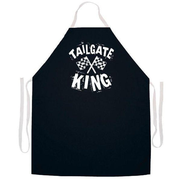 update alt-text with template Daily Steals-Made in USA Humor Grilling BBQ Aprons - Unisex-Kitchen-2341 Tailgate King-