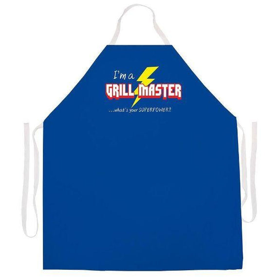 update alt-text with template Daily Steals-Made in USA Humor Grilling BBQ Aprons - Unisex-Kitchen-2381 Grill Master Superpower-