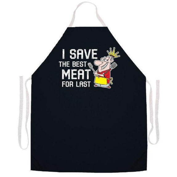 update alt-text with template Daily Steals-Made in USA Humor Grilling BBQ Aprons - Unisex-Kitchen-2490 Best meat last-