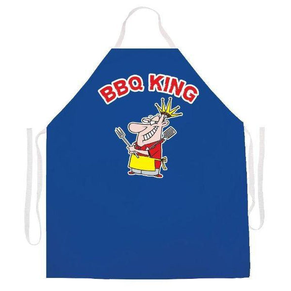 update alt-text with template Daily Steals-Made in USA Humor Grilling BBQ Aprons - Unisex-Kitchen-2494 Bbq king-