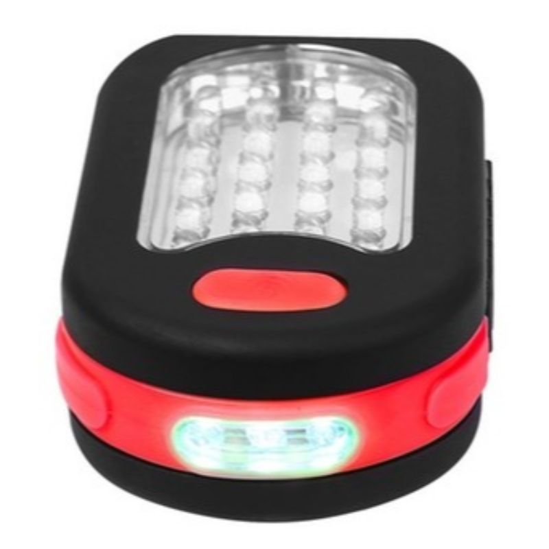 24 LED Working Flashlight Magnetic Hook Hanging Camping Light - 3 Pack-Daily Steals