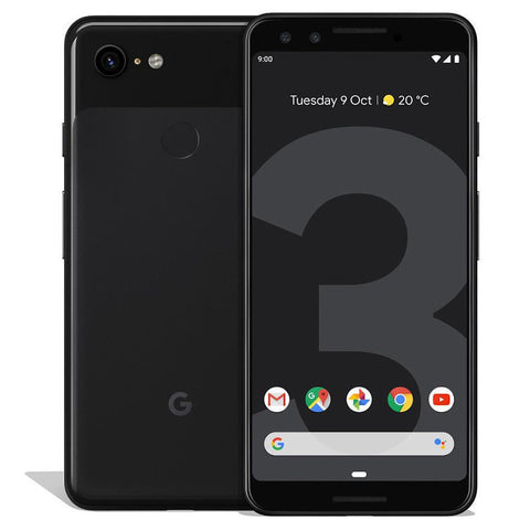 Daily Steals-Google Pixel 3 - Unlocked-Cellphones-Black-PIXEL 3 - 64GB-