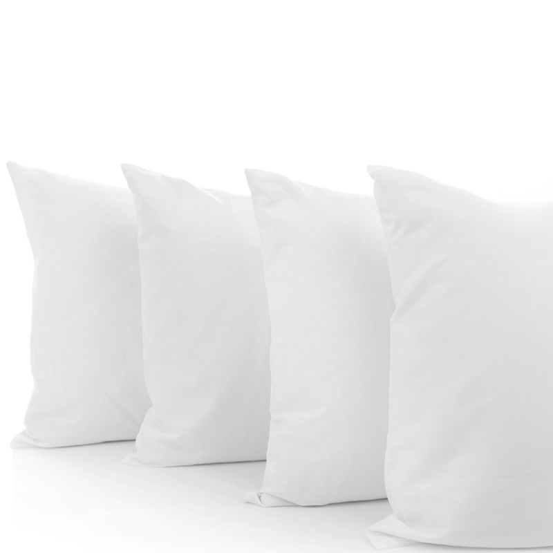 Beauty Sleep 100% White Duck Feather Pillows with 100% Cotton Cover-Daily Steals
