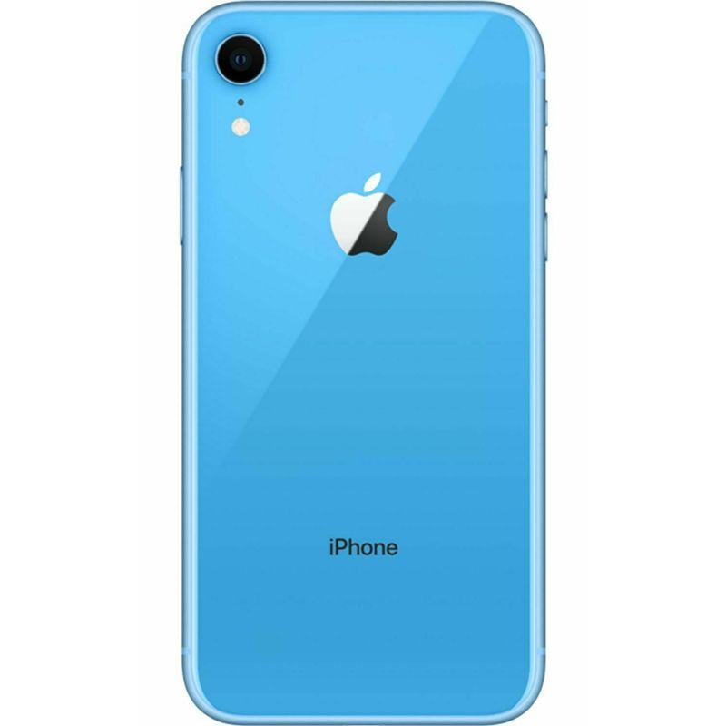 "Apple iPhone XR Factory Unlocked 64GB with 6.1"" Liquid Retina Display-Blue-Daily Steals"