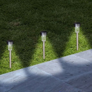 Lawnlites Solar Metal Garden Pathway Lights - 8 Pack-Daily Steals