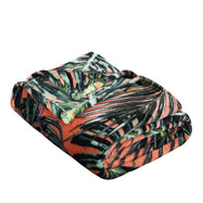 Noble House Printed Super Soft Microplush Throw Blanket-Leaf-Daily Steals