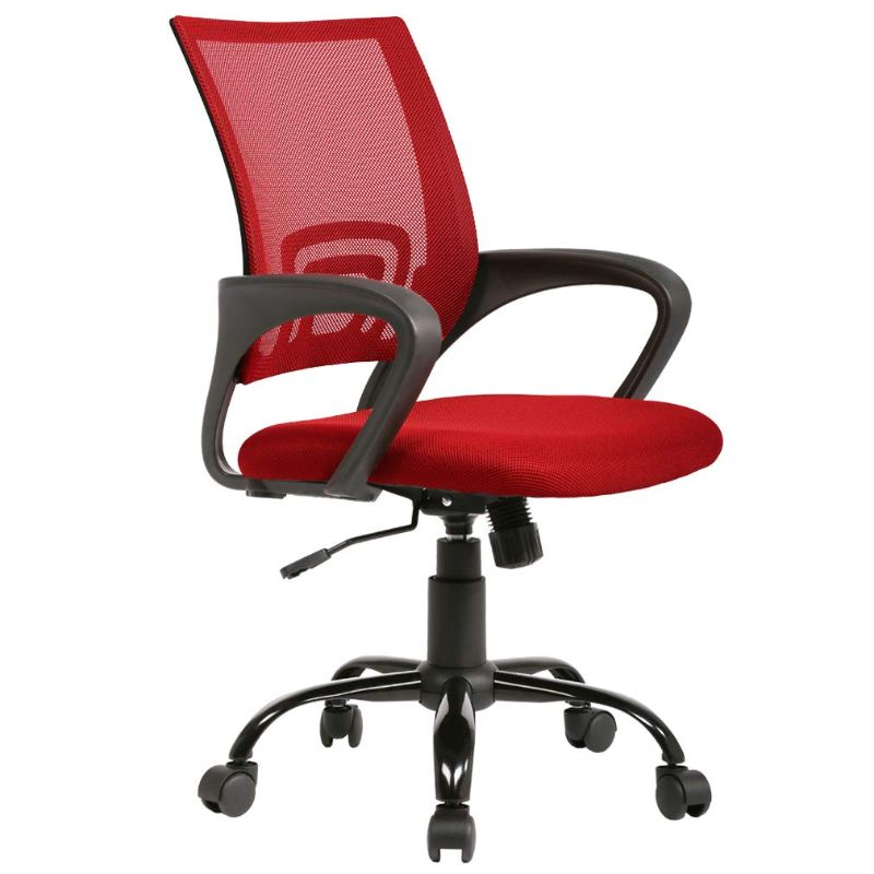 Mesh Ergonomic Office Chair-Red-Daily Steals