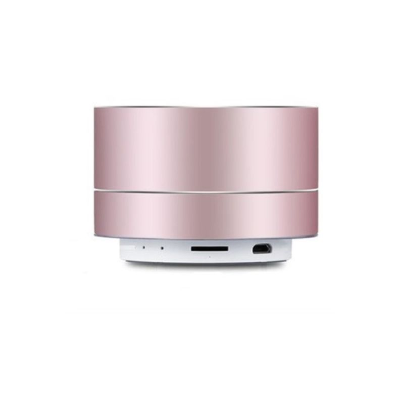 Wireless Bluetooth Speaker Portable & Metallic Design-Rose Gold-1-Pack-Daily Steals